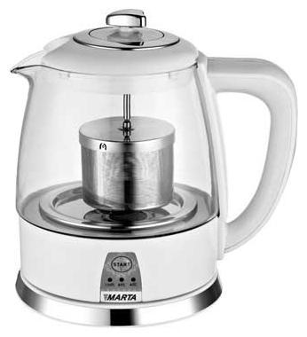 Marta MT-1048, Black чайник электрический набор столовых приборов marta mt 2701 twinkle