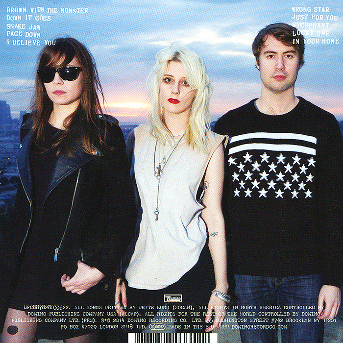 White Lung.  Deep Fantasy Волтэкс-инвест,Domino Recording