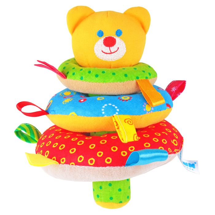 Мякиши Мягкая игрушка-пирамидка Мишка игрушка пирамидка мишка топтыжка