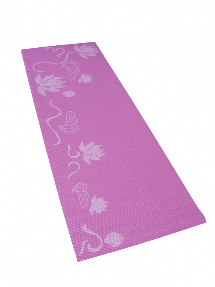 Коврик для фитнеса и йоги Alonsa, цвет: розовый, 173 см х 60 см х 0,5 см