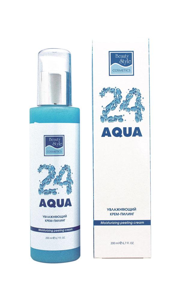 Beauty Style Увлажняющий крем – пилинг Аква 244515703Деликатно очищая кожу от загрязнений, отмерших клеток и избытка кожного сала, крем-пилинг Aqua 24 придает коже гладкость и мягкость, стимулирует процессы обновления кожи и сохраняет необходимый уровень увлажнения. Обеспечивает оптимальную подготовку кожи к последующим процедурам (нанесение масок, сывороток, аппаратные воздействия и другие). Протеины овса питают кожу, оказывают антиоксидантное действие, замедляют процессы старения. Обеспечивают необходимый уровень влаги в коже, придают ей гладкость и мягкость.Порошок скорлупы грецкого ореха обеспечивает тщательное и бережное отшелушивание, стимулирует процессы регенерации, препятствует возникновению воспалений. Сквален повышает сопротивляемость кожи воздействию внешних факторов, укрепляя гидролипидную мантию кожи. Экстракт розы (розовая вода) превосходно улучшает цвет лица, тонизирует кожу, способствует устранению раздражений, освежает и увлажняет кожу.Масло жожоба смягчает и защищает кожу, нейтрализует действие свободных радикалов и замедляет процессы старения. Оказывает противовоспалительное действие, стимулирует регенерацию.Гиалуронат натрия увлажняет кожу, способствует сохранению влаги и оказывает лифтинговое действие.Товар сертифицирован.