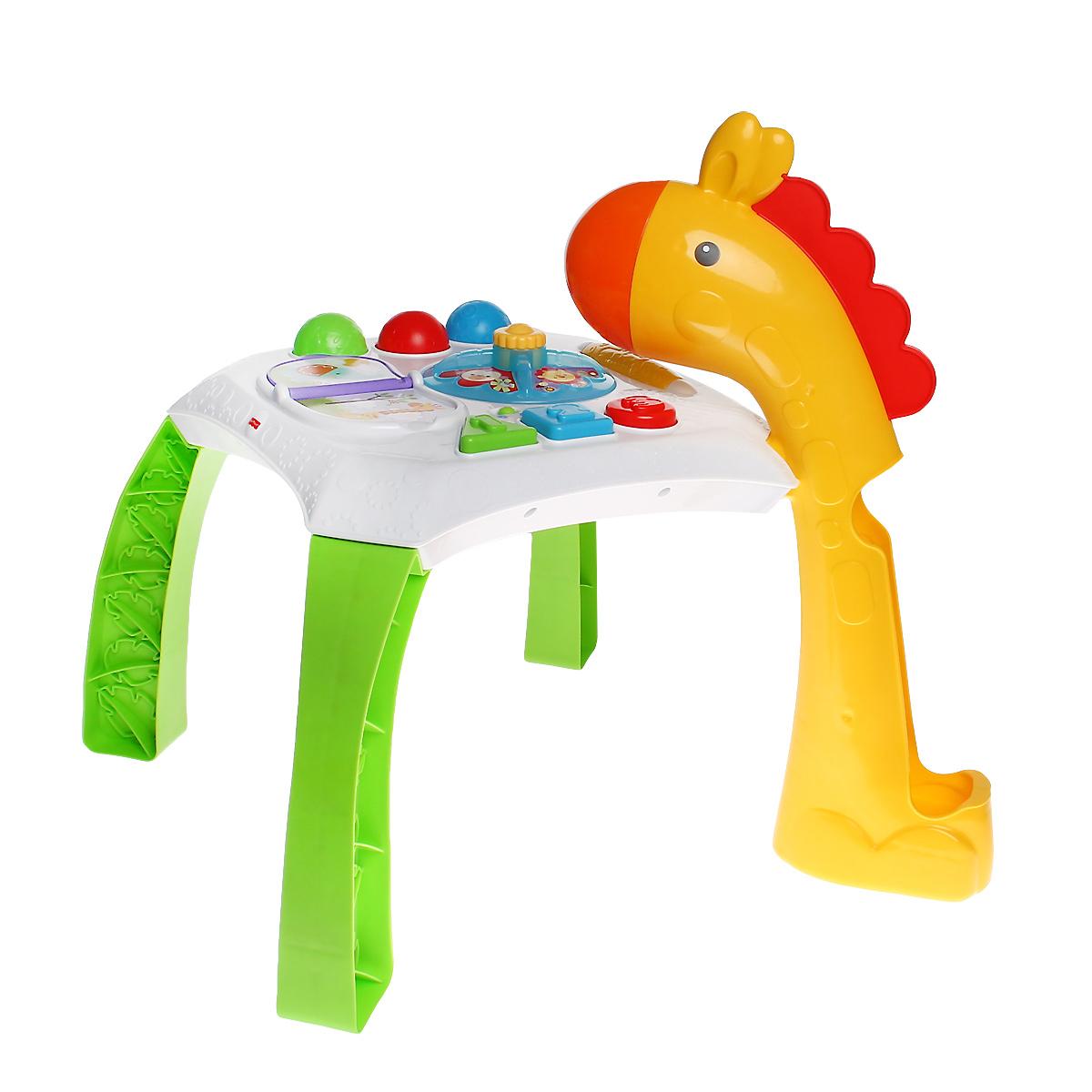 Fisher-Price Обучающий столик Веселые животные столик в стиле лофт