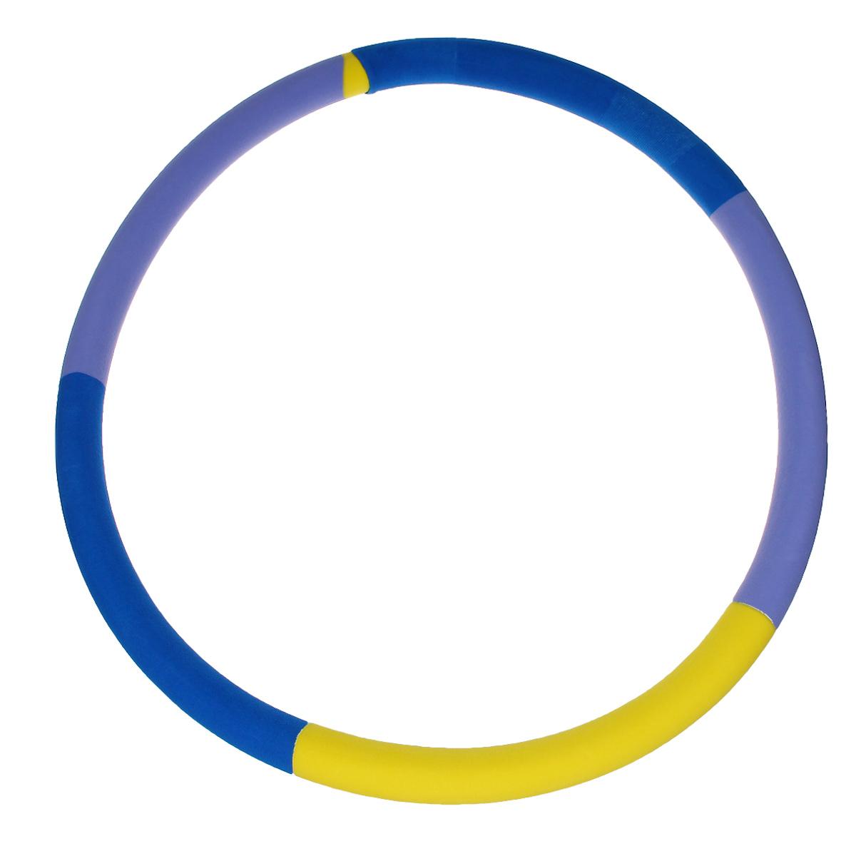 """Обруч Спорт-21 """"Сделай талию"""", цвет: разноцветный, диаметр 90 см"""