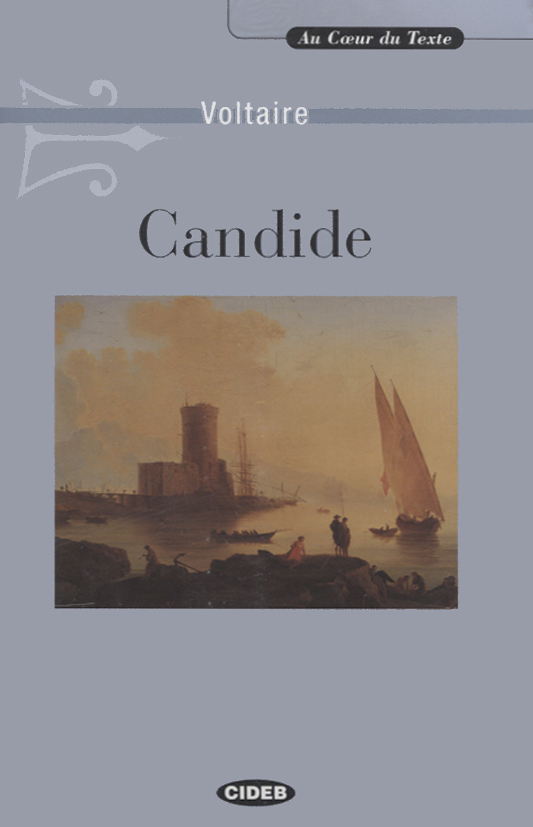 Candide: Ou L'Optimisme (+ CD) candide поликотон кидм