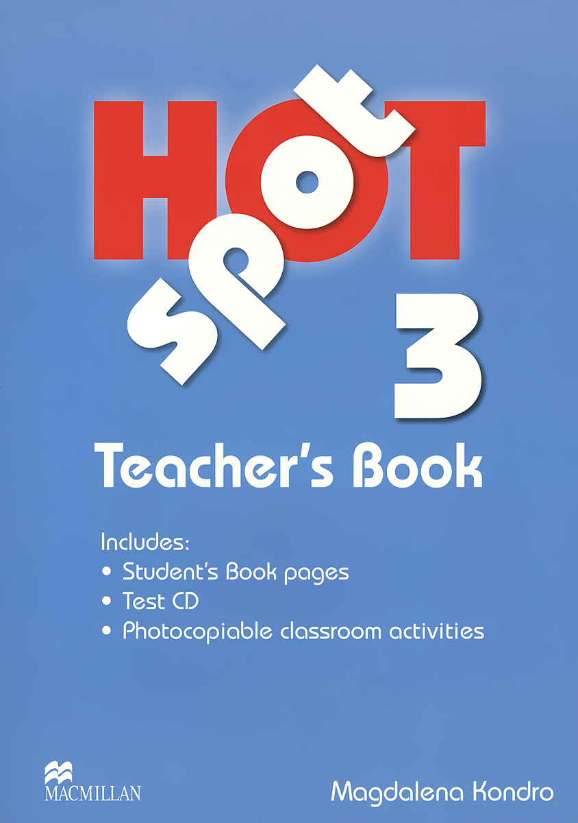 Hot Spot: Level 3: Teacher's Book (+ CD-ROM)