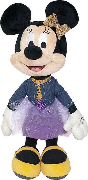 Мягкая озвученная игрушка Минни Маус, 40 см мягкая игрушка минни 30 см 1100454