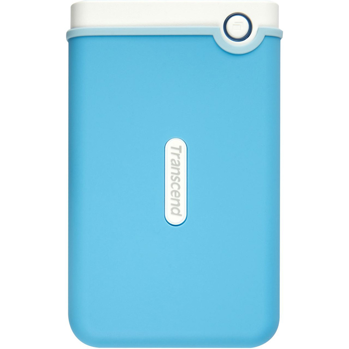 Transcend StoreJet 25M3 1TB, Baby Blue внешний жесткий диск (TS1TSJ25M3B) - Носители информации