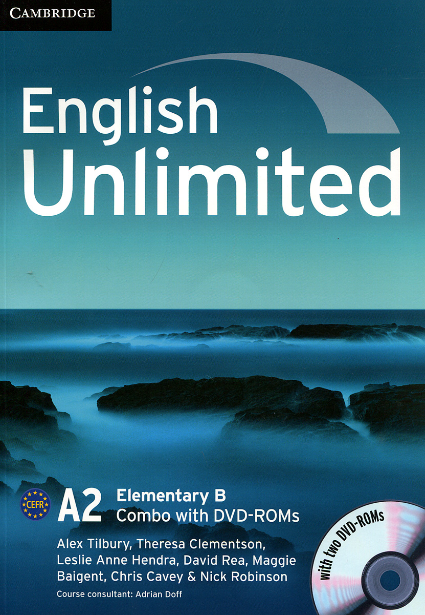 English Unlimited A2: Elementary B: Combo (+ 2 DVD-ROM) choices elementary teacher s book dvd rom