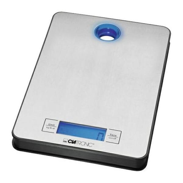 Clatronic KW 3412 кухонные весы кухонные весы clatronic kw 3412 inox