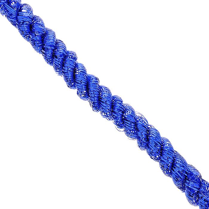 Мишура новогодняя Magic Time, цвет: синий, диаметр 5 см, длина 200 см. 3486834868Новогодняя мишура Magic Time, выполненная из ПЭТ (Полиэтилентерефталат), поможет вам украсить свой дом к предстоящим праздникам. Изделие выполнено в виде скрученной косички. Новогодняя елка с таким украшением станет еще наряднее. Мишура армирована, то есть имеет проволоку внутри и способна сохранять форму. Новогодней мишурой можно украсить все, что угодно - елку, квартиру, дачу, офис - как внутри, так и снаружи. Можно сложить новогодние поздравления, буквы и цифры, мишурой можно украсить и дополнить гирлянды, можно выделить дверные колонны, оплести дверные проемы. Коллекция декоративных украшений из серии Magic Time принесет в ваш дом ни с чем несравнимое ощущение волшебства! Создайте в своем доме атмосферу тепла, веселья и радости, украшая его всей семьей.