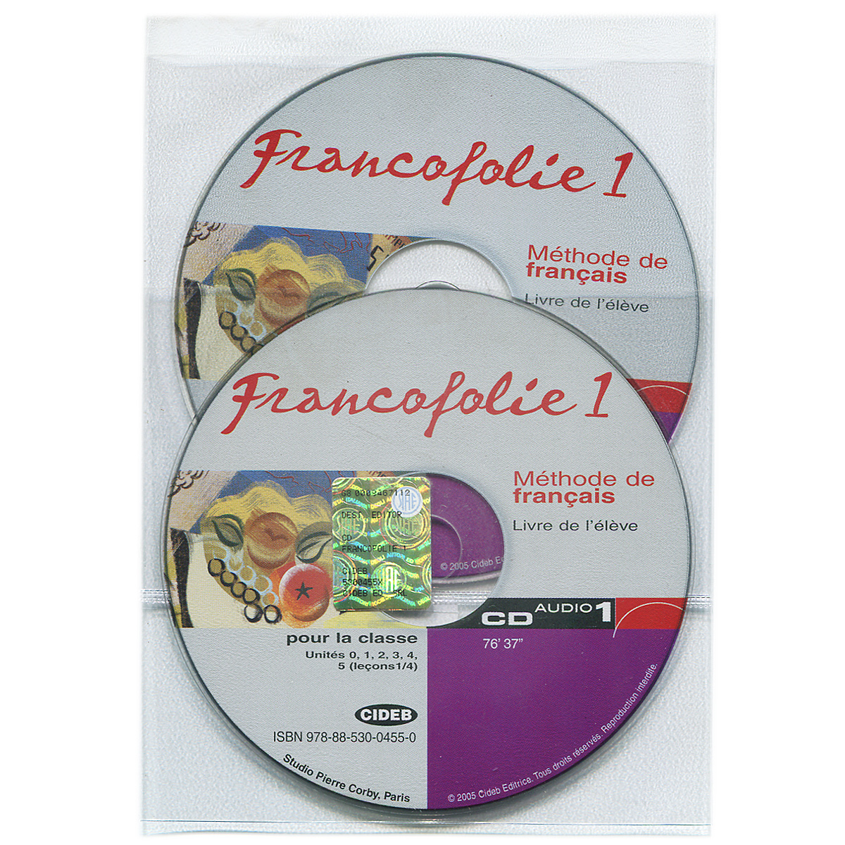 Francofolie 1: Methode de Francais (аудиокурс на 2 CD) zenith methode de francais 3 b1
