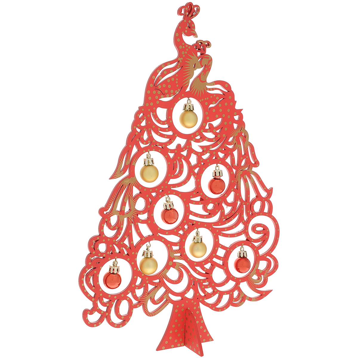 Украшение новогоднее Magic Time Ель с игрушками, высота 37 см733907Украшение новогоднее Magic Time Ель с игрушками гармонично впишется впраздничный интерьервашего дома или офиса. Изделие, состоящее из ели на подставке и 8 игрушек, выполнено изкачественного дерева.Новогодние украшения всегда несут в себе волшебство и красоту праздника. Создайтеатмосферу тепла, веселья и радости.