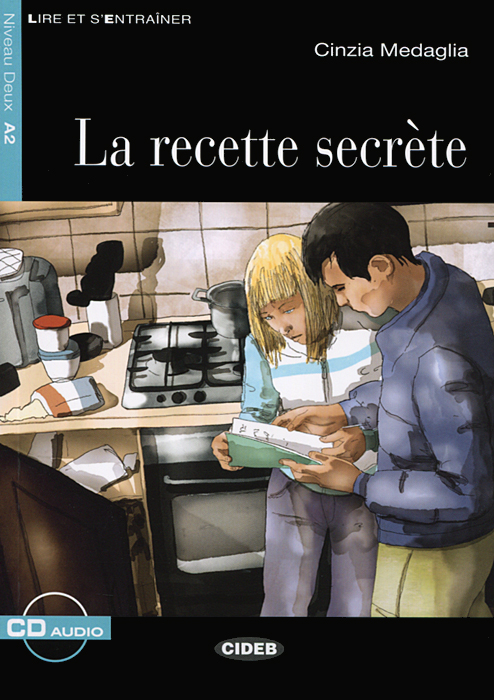 La recette Secrete: Niveau Deux A2 (+ CD) le rouge et le noire