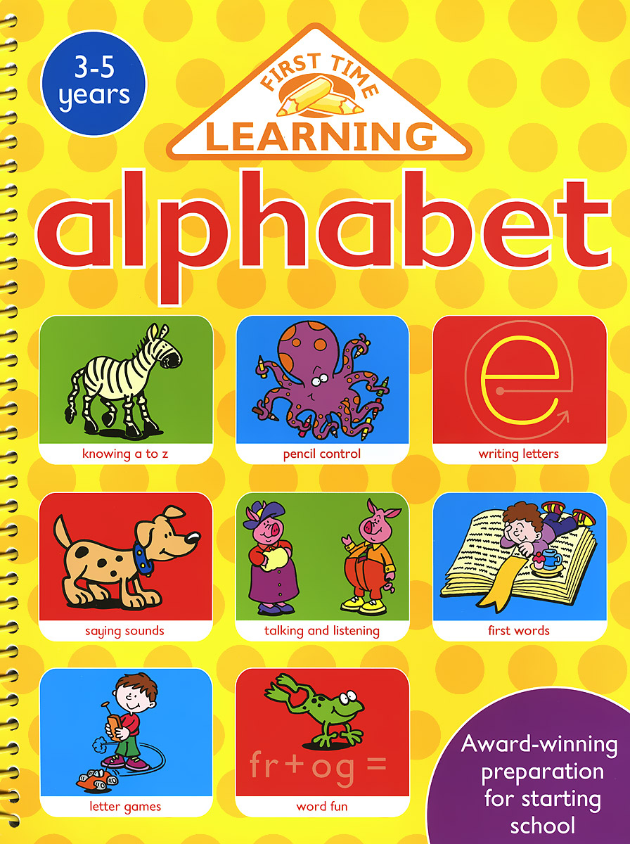First Time Learning: Alphabet