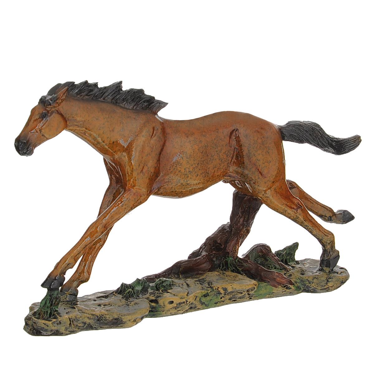 Статуэтка Molento Конь, высота 13,5 см статуэтка мадам с собакой molento