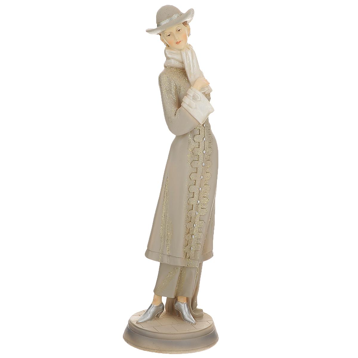 Статуэтка Molento Дама в пальто, высота 33 см512-100