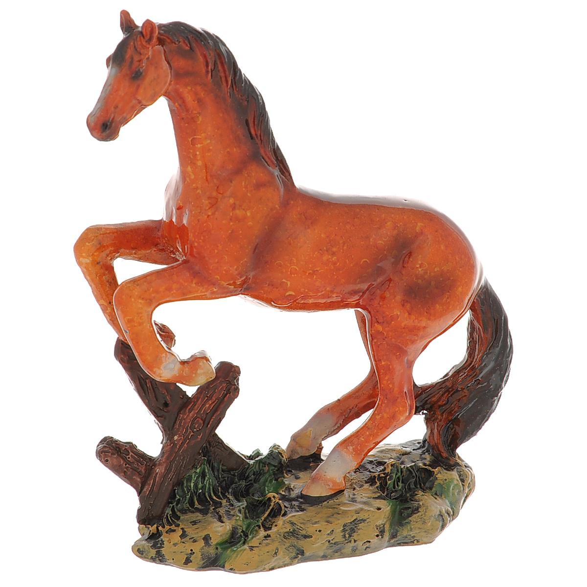 Статуэтка Molento Гнедая лошадь, высота 13 см512-137