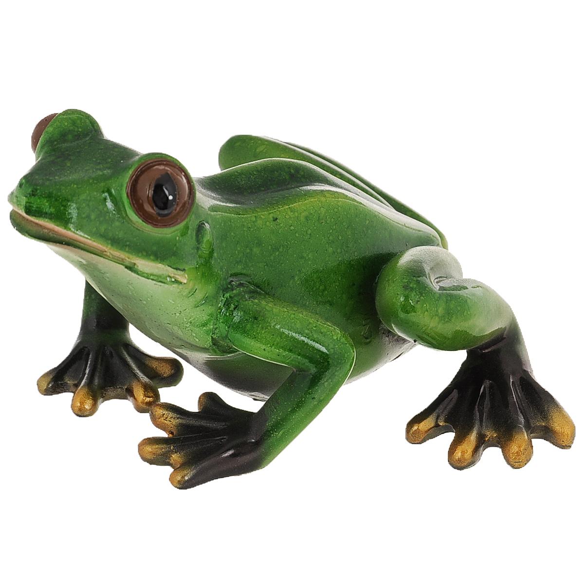 Статуэтка Molento Зеленая лягушка, высота 7,7 см статуэтки molento статуэтка дама в пальто