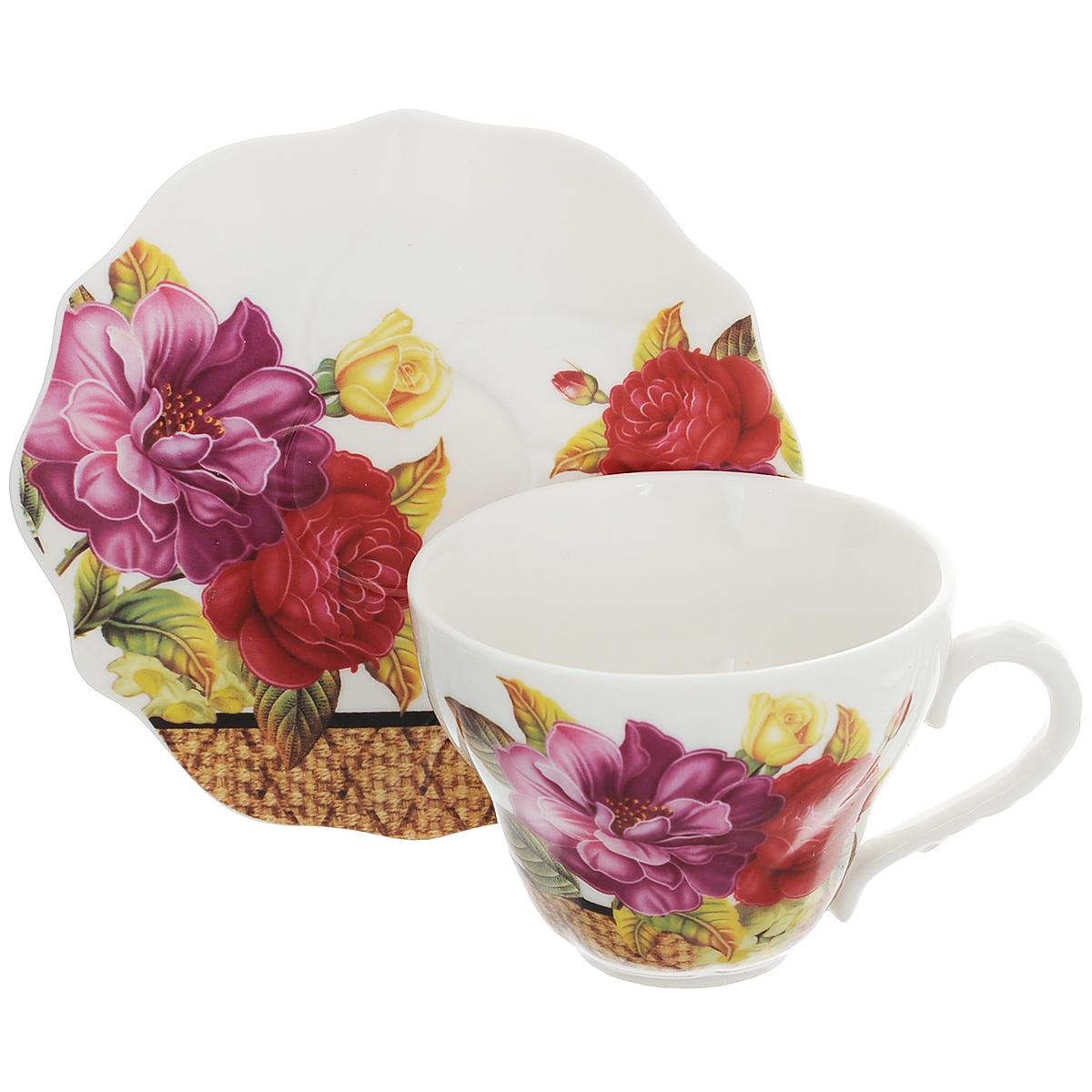 Набор чайный Briswild Японский пион, 2 предмета. 516-067 briswild набор чайный 2 пр лимония 250 мл