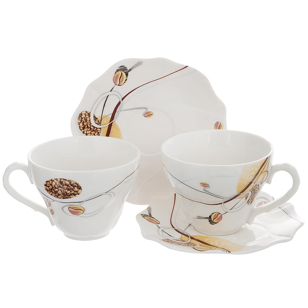 Набор чайный Briswild Джаз, 4 предмета. 516-068 набор чайный briswild цветы мака 6 предметов