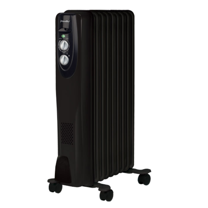 Ballu 09BRN-BOH/CL масляный обогревательBOH/CL-09BRN 2000Маслонаполненный радиатор Ballu 09BRN-BOH/CL - это мобильный и современный прибор, выполненный в эксклюзивном дизайнерском решении. Антикоррозийный состав защищает модель от негативных воздействий внешней среды, матовое текстурное покрытие увеличивает теплоотдачу на 20%, а высокоточный термостат нового поколения автоматически поддерживает температуру в помещении.Принцип действия:Внутри герметичного металлического корпуса, наполненного минеральным маслом, находится электрическая спираль. При нагреве, она передает тепло маслу, масло передает тепло корпусу, а корпус - воздуху.Отличительные свойстваИнновационный дизайнЗащитный антикоррозийный состав Protective coating - защищает от негативных воздействий внешней средыТермостат нового поколения Opti-Heat - с функцией автоматического поддержания температурыОптимальная форма перфорации - увеличивает срок службы радиатора и обеспечивает более эффективный обогревКонструкция ножек High stability - полностью исключает возможность опрокидыванияКомплекс Easy moving для свободы перемещенияМатовое текстурное покрытие Firm finishing увеличивает теплоотдачу на 20%Электрическая мощность: 2000/1200/800 Вт