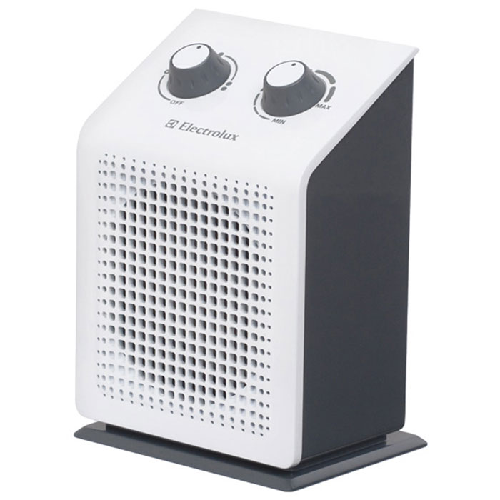 Electrolux 1115S/EFH тепловентиляторEFH/S-1115Тепловентилятор Electrolux 1115S/EFH относится к дизайнерской ART-серии тепловентиляторов компании Electrolux. Он имеет три режима работы ( вентилятор и два режима мощности обогрева). Тепловентилятор Electrolux EFH/S-1115 выполнен из ударопрочного и термостойкого пластика. Имеет эргономичное управление всеми функциями тепловентилятора.