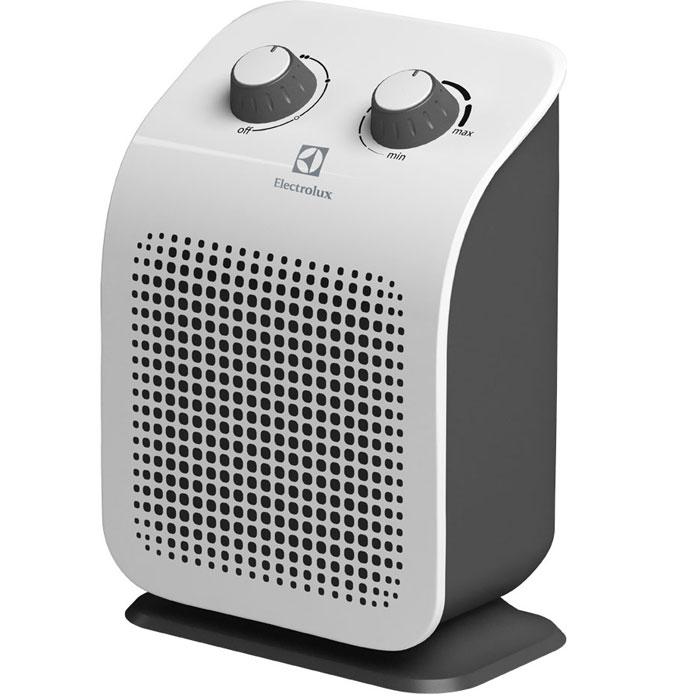 Electrolux 1120S/EFH тепловентиляторEFH/S-1120Тепловентилятор Electrolux 1120S/EFH относится к дизайнерской ART-серии тепловентиляторов компании Electrolux. Он имеет три режима работы ( вентилятор и два режима мощности обогрева). Тепловентилятор Electrolux 1120S/EFH выполнен из ударопрочного и термостойкого пластика. Имеет эргономичное управление всеми функциями тепловентилятора. Высоконадежный нагревательный элемент обеспечивает мгновенный нагрев помещения