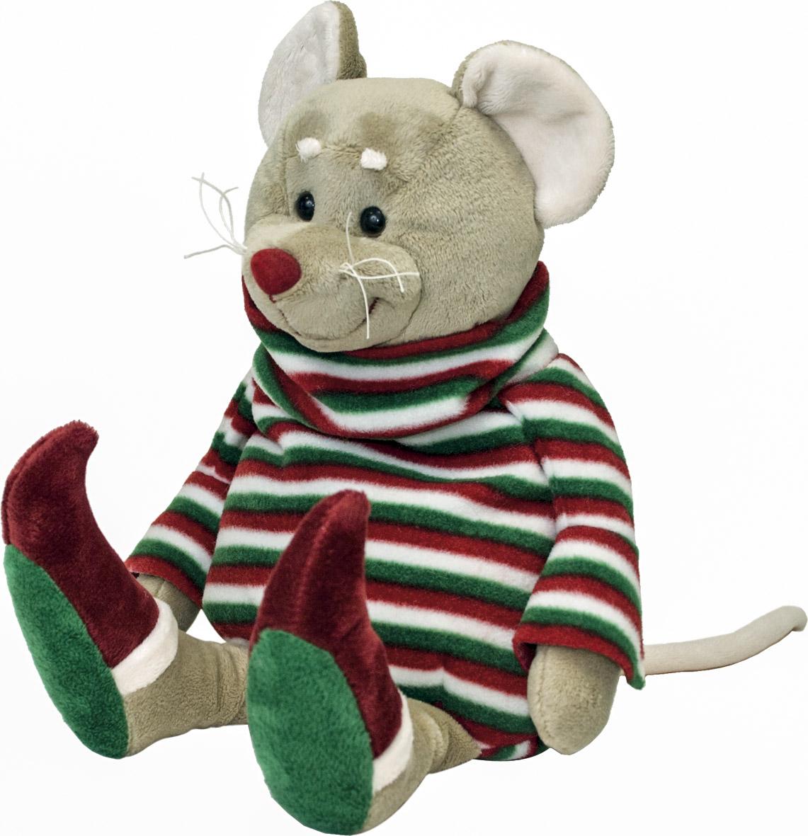 Мягкая игрушка Fancy Мышка-домосед, 40 см fancy мышка пилот