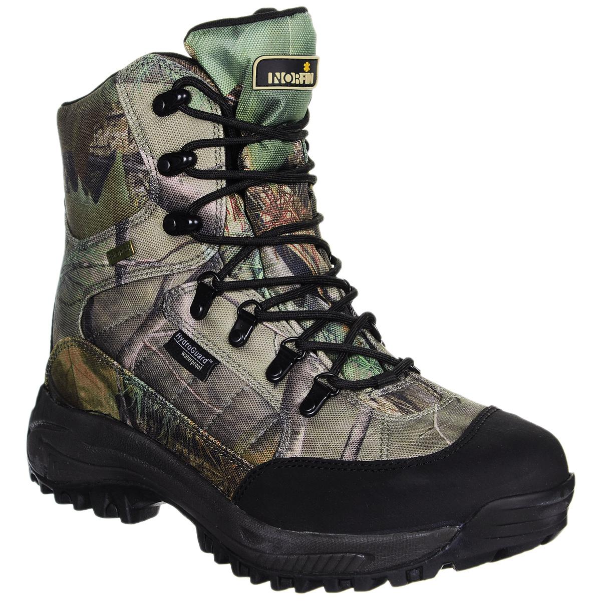 Купить Ботинки мужские Norfin Ranger, цвет: зеленый, бежевый, серый. 13993-45. Размер 45