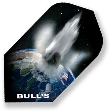 "Набор оперений для дротиков Bull's ""Motex-Flights Slim"", 2,3 см х 4,3 см. 52258"