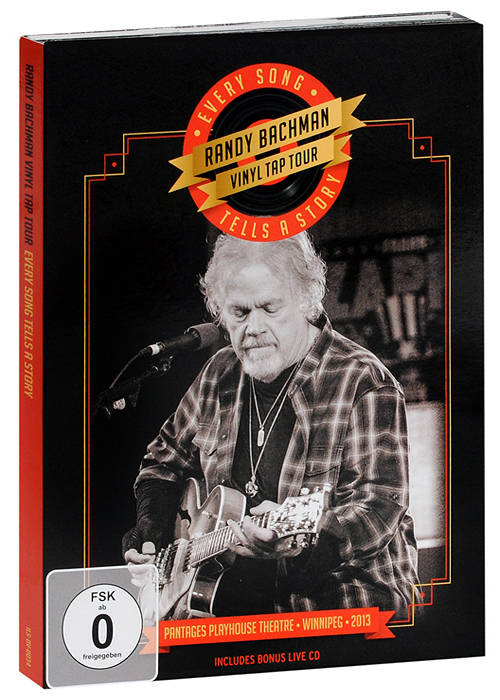 Randy Bachman. Vinyl Tap Tour: Every Song Tells A Story (DVD + CD) graftobian аквагрим propaint neon radioactive green for hair and nails only цвет neon radioactive green for hair and nails only