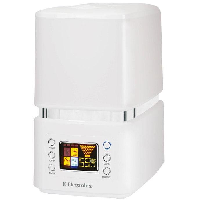 Electrolux 3510D-EHU увлажнитель воздухаEHU - 3510 DElectrolux EHU-3510D представляет собой современный ультразвуковой увлажнитель воздуха с интеллектуальным управлением, эффективной системой фильтрации и высокой производительностью работы по созданию чистого и максимально комфортного микроклимата в помещении. В увлажнителе используется вместительный бак для воды ёмкостью — 6,5 литров, что позволяет работать увлажнителю более продолжительное время. Производительность по увлажнению до 400 г/ч.