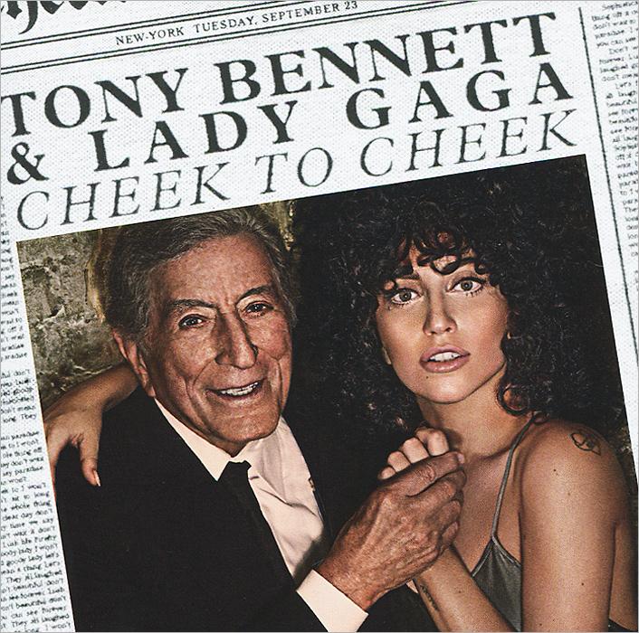 Тони Беннетт,Lady Gaga Tony Bennett And  . Cheek
