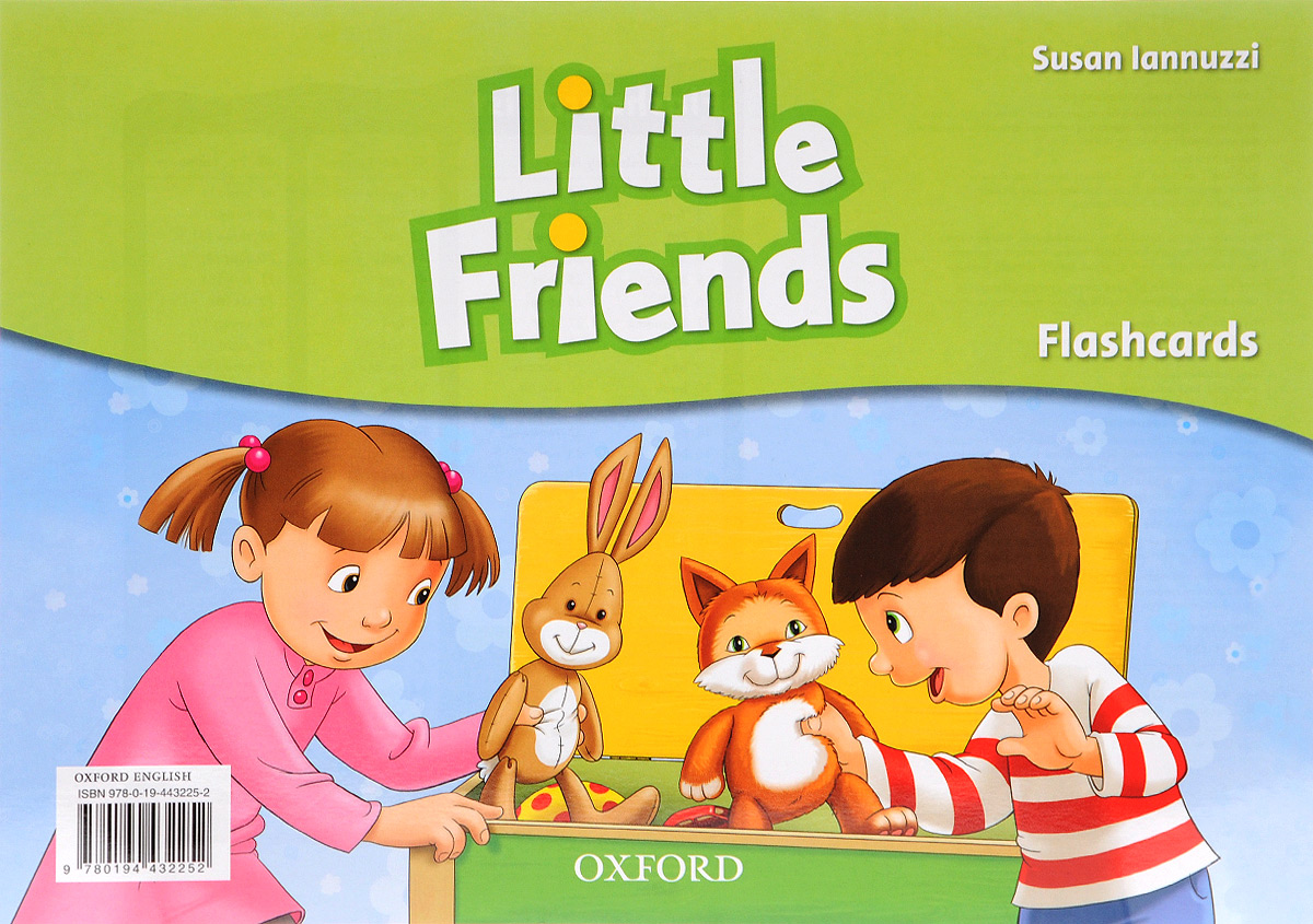 Little Friends: Flashcards (набор из 21 карточки) times newspaper reading course of intermediate chinese 1 комплект из 2 книг