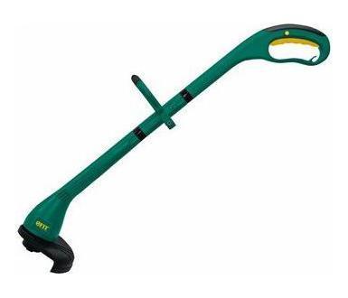Электрический триммер FIT - легкий инструмент, при помощи которого можно подравнять траву на приусадебном участке, возле садового домика. В качестве режущего элемента используется леска.   Характеристики:     Материал: металл, платик, резина. Размер триммера: 108 см х 33 см. Размер упаковки: 58 см х 10 см х 19 см. Гарантия1 год.