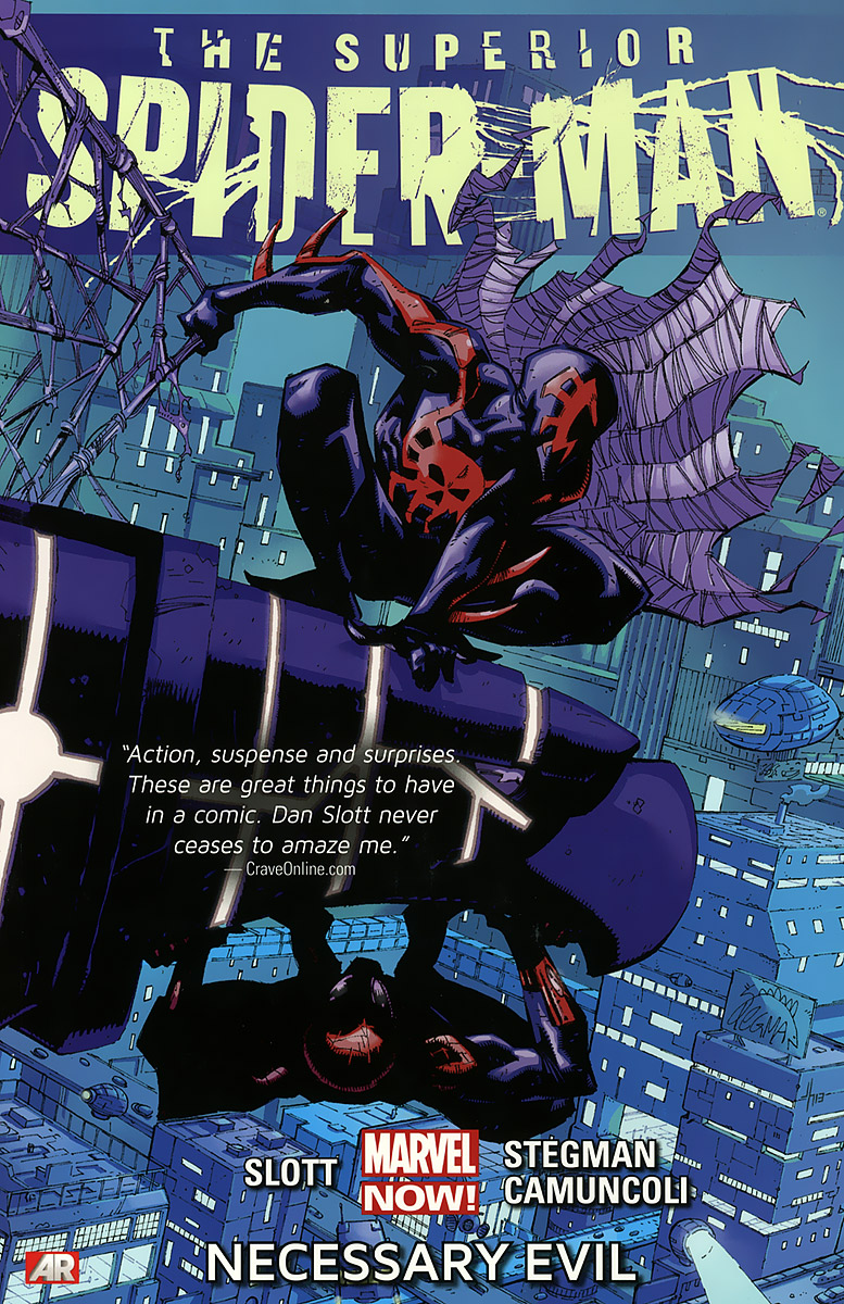 The Superior Spider-Man: Volume 4: Necessary Evil the box man