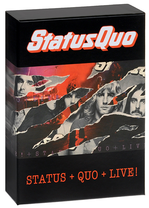 Status Quo Status Quo. Status / Quo / Live (4 CD) status quo just doin it live in concert
