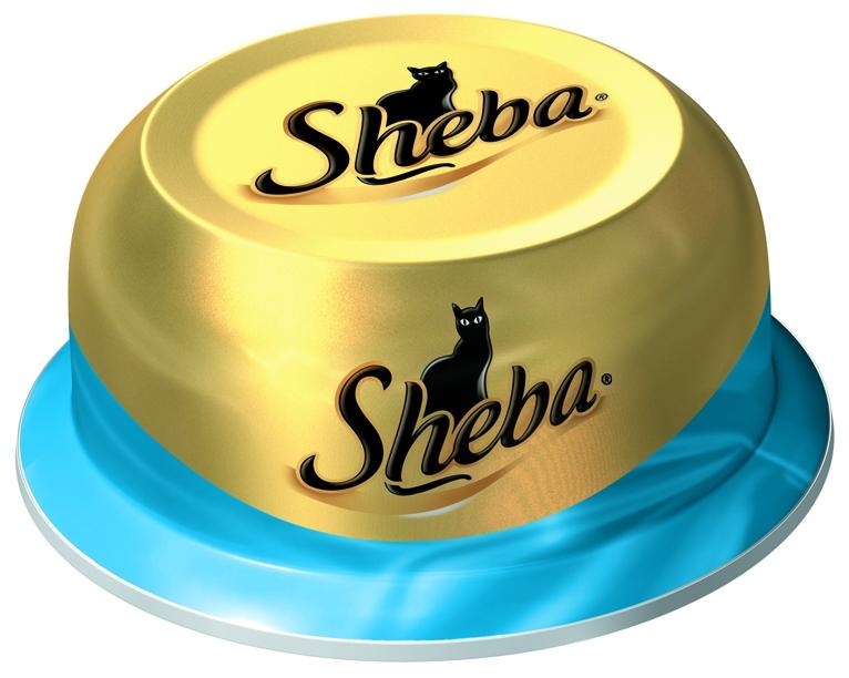 Консервы для взрослых кошекSheba, с сочным тунцом в нежном соусе, 80 г globster мега филе филе тресковых пород в хрустящей корочке 300 г