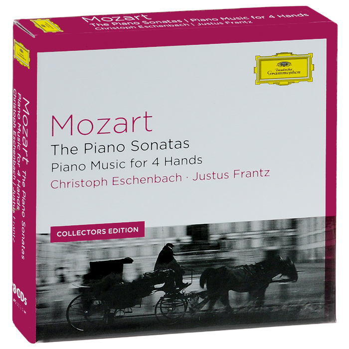 Кристоф Эшенбах,Джастус Франз,Вильгельм Melcher Mozart. The Piano Sonatas, Piano Music For 4 Hands (8 CD) лонгслив ruxara