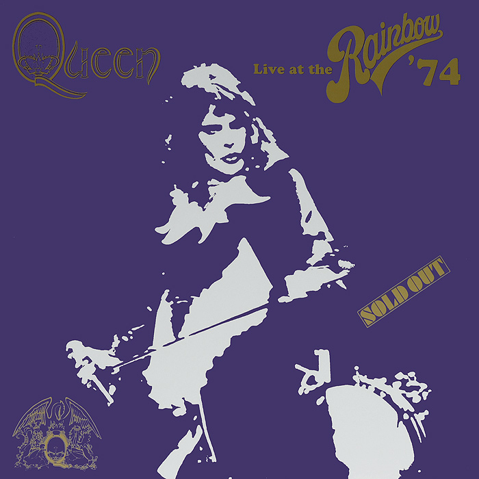 Queen Queen. Live At The Rainbow '74 (2 LP) queen queen forever limited edition 5 lp