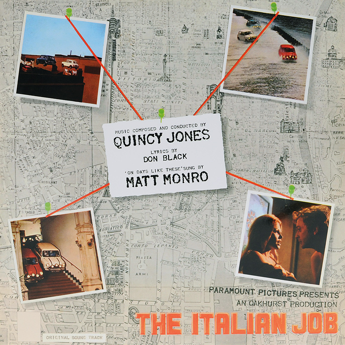 Quincy Jones. The Italian Job (LP)