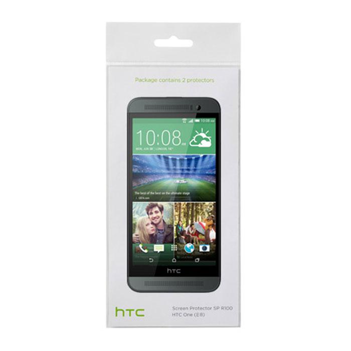 HTC SP R140 защитная пленка для One Ace (E8)22410Оригинальная защитная пленка для экрана смартфона HTC One Ace (E8). Благодаря использованию высококачественного материала пленка легко наклеивается, плотно прилегает, имеет высокую прозрачность и устойчивость к механическим воздействиям. Потребительские свойства и эргономика сенсорного экрана при этом не ухудшаются.В комплект входят 2 пленки.