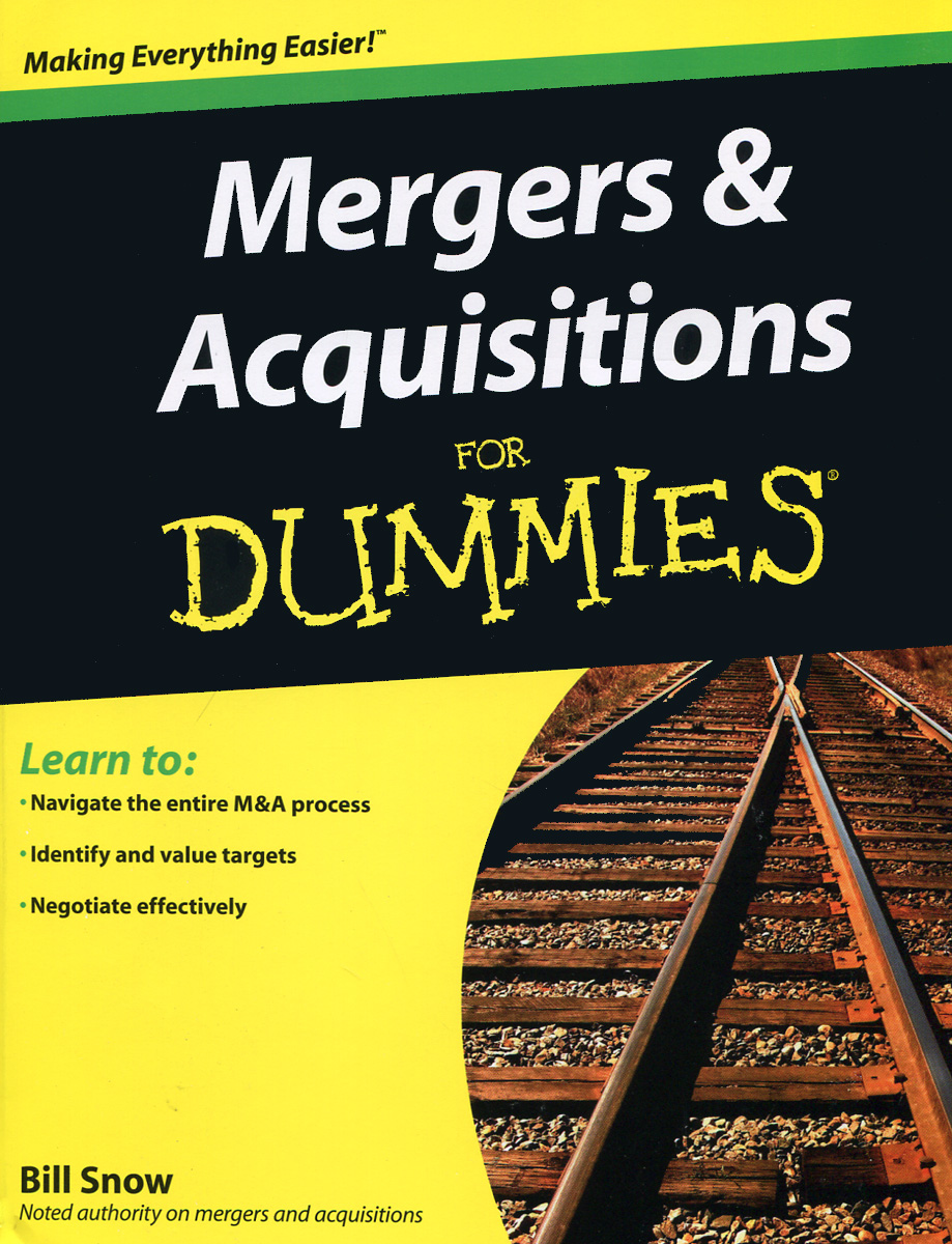 Mergers and Acquisitions for Dummies цена и фото
