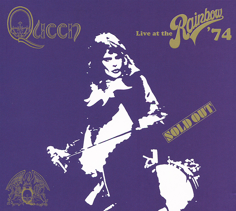 Queen Queen. Live At The Rainbow' 74 (2 CD) queen queen on air 2 cd