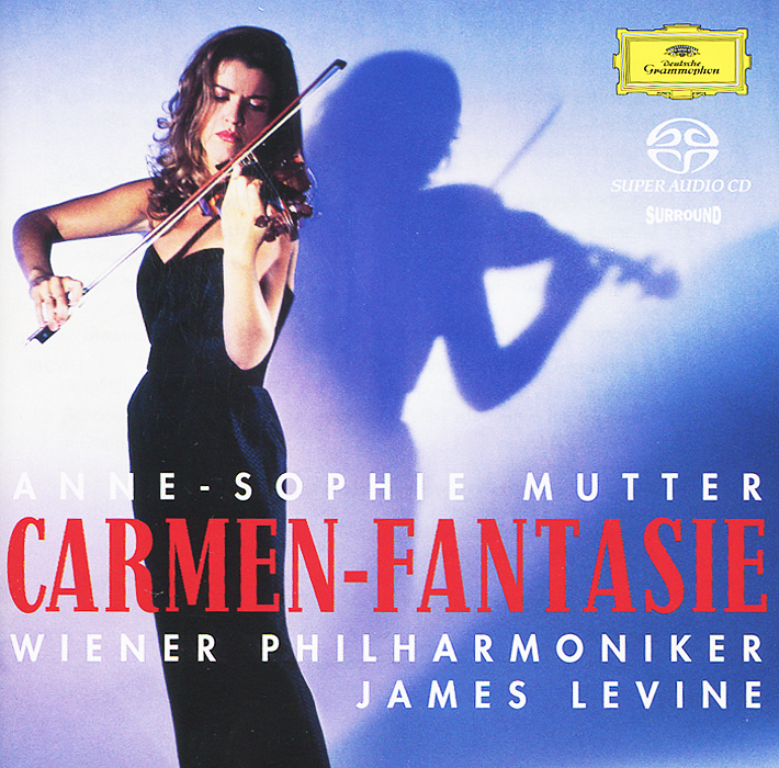все цены на Анна-Софи Муттер,Wiener Philharmoniker,Джеймс Левайн Anne-Sophie Mutter, Wiener Philharmoniker, James Levine. Carmen-Fantasie