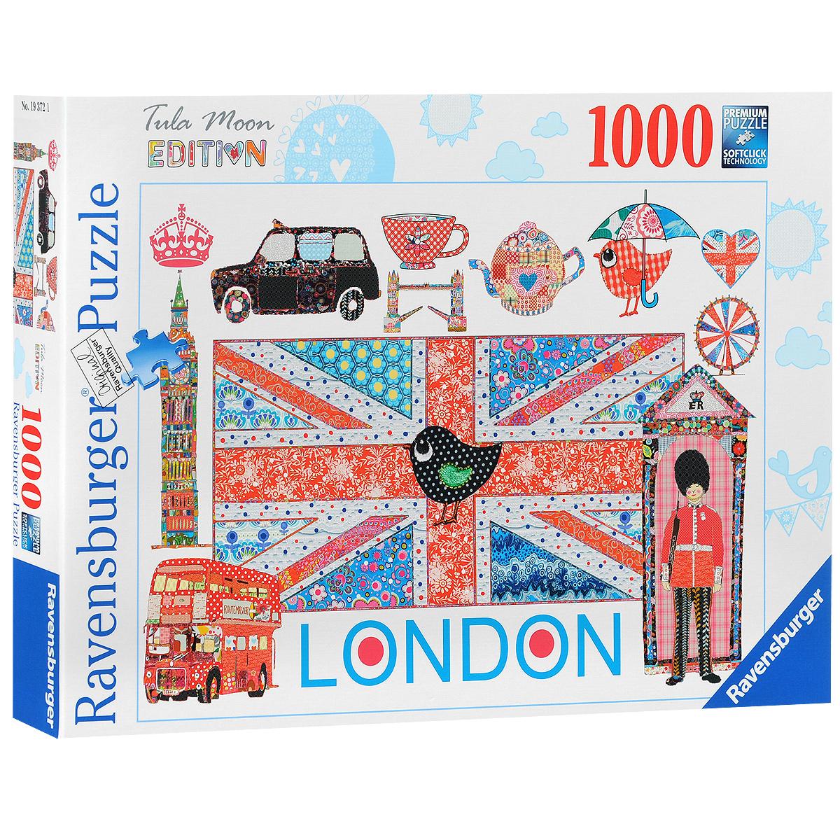 Ravensburger Лондон. Пазл, 1000 элементов