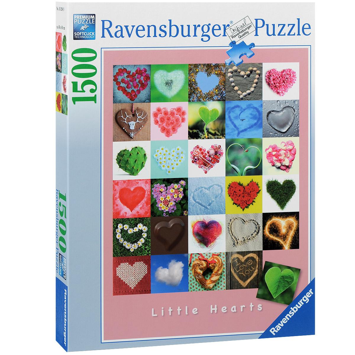 Ravensburger Галерея сердец. Пазл, 1500 элементов