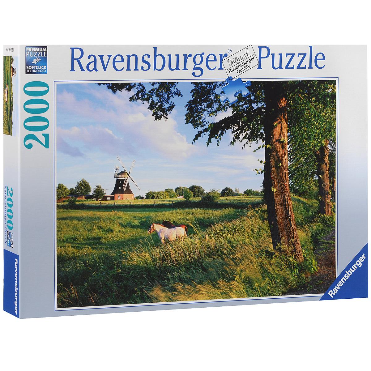 Ravensburger Сельский пейзаж. Пазл, 2000 элементов