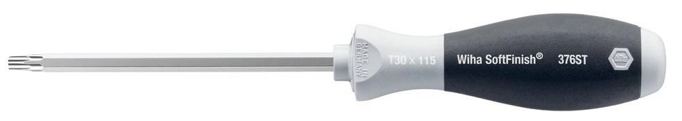 Отвертка SoftFinish Inox из нержавеющей стали T30 х 115 мм Wiha 3262332623Отвертка Wiha SoftFinish Inox оснащена шестигранным жалом, выполненным из высококачественной нержавеющей стали полной вакуумной закалки. Эргономичная многокомпонентная рукоятка Wiha SoftFinish с защитой от скатывания. Отвертка идеально подходит для закручивания винтов из высококачественной стали. Общая длина отвертки: 23 см. Длина жала: 11,5 см. Размер ручки: 11,5 см х 3 см х 3 см.