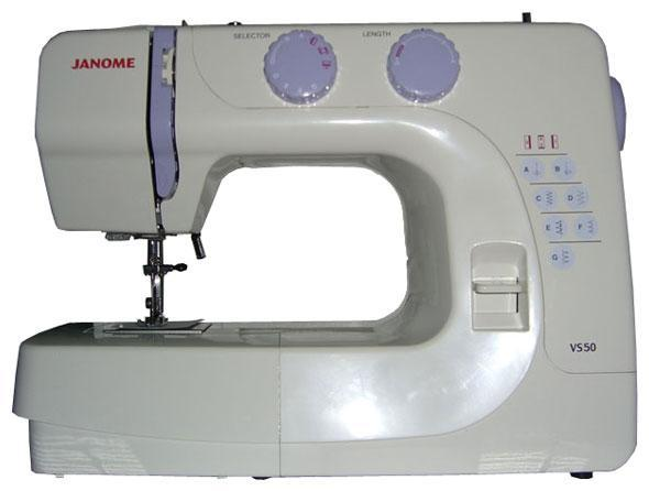 Janome VS50 швейная машина швейная машина janome vs 54s белый